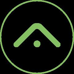 Grünes Icon als Symbol für Philosphie des Unternehmens