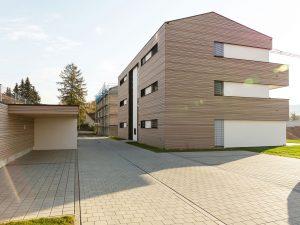 immocontec-Bauprojekt: Bauphase der Häuser an der Alten Weberei