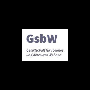 Logo der Gesellschaft für soziales und betreutes Wohnen (GsbW)