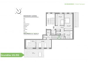 Naab Terrassen -Grundriss UG/EG