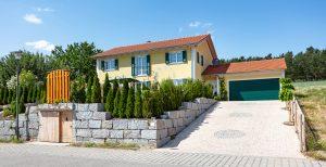 Neubau Einfamilienwohnhaus mit Doppelgarage
