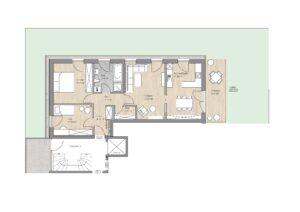 Wohnung 3 - Erdgeschoß